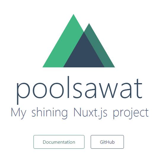 "SPA สร้าง Web Site Universal ด้วย Nuxt js (EP 1) ""Setup Nuxt"